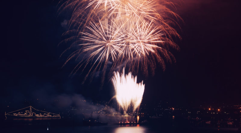 New Year's Eve in Sausalito