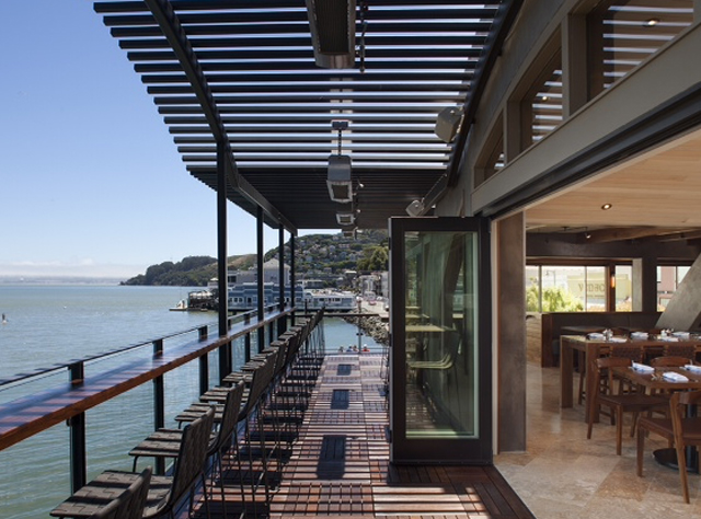 Waterfront Patio Dining